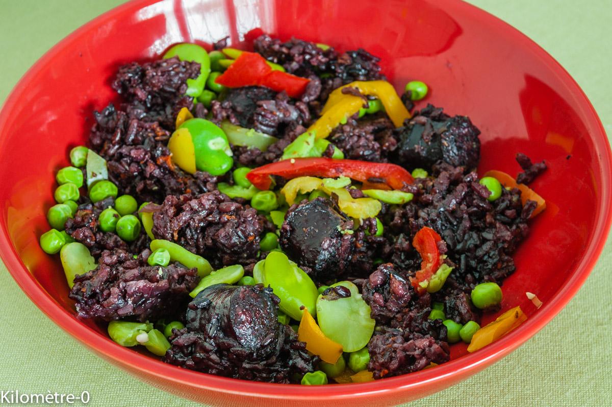 Photo de recette  facile, rapide, légère  de saucisses fumées aux légumes de printemps deKilomètre-0, blog de cuisine réalisée à partir de produits locaux et issus de circuits courts