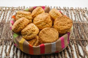 Photo de recette de scones, légers, rapide, bio, facile,  de Kilomètre-0, blog de cuisine réalisée à partir de produits locaux et issus de circuits courts