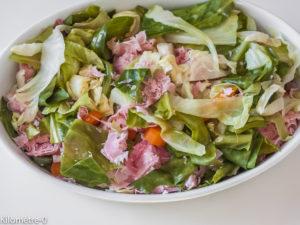Photo de recette de gratin aux choux de printemps de Kilomètre-0, blog de cuisine réalisée à partir de produits locaux et issus de circuits courts
