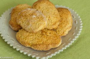 Photo de recette de scones au citron de Kilomètre-0, blog de cuisine réalisée à partir de produits locaux et issus de circuits courts