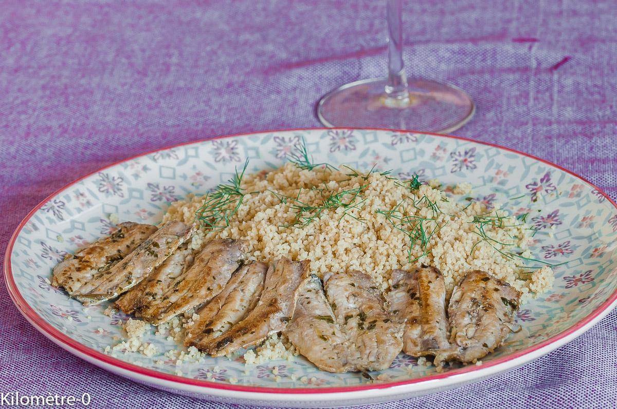 Photo de recette légère, facile, rapide, healthy de sardines à la marocaine de Kilomètre-0, blog de cuisine réalisée à partir de produits locaux et issus de circuits courts
