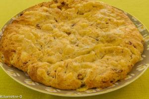 Photo de recette d'apéro, scone, gâteau,  légère, facile, rapide, healthy de Kilomètre-0, blog de cuisine réalisée à partir de produits locaux et issus de circuits courts