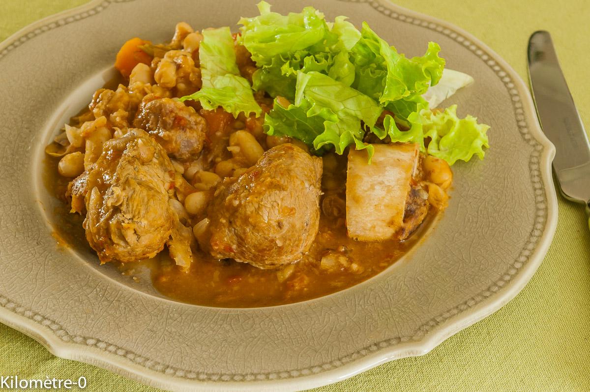 Photo de recette d'osso bucco à la toscane de Kilomètre-0, blog de cuisine réalisée à partir de produits locaux et issus de circuits courts