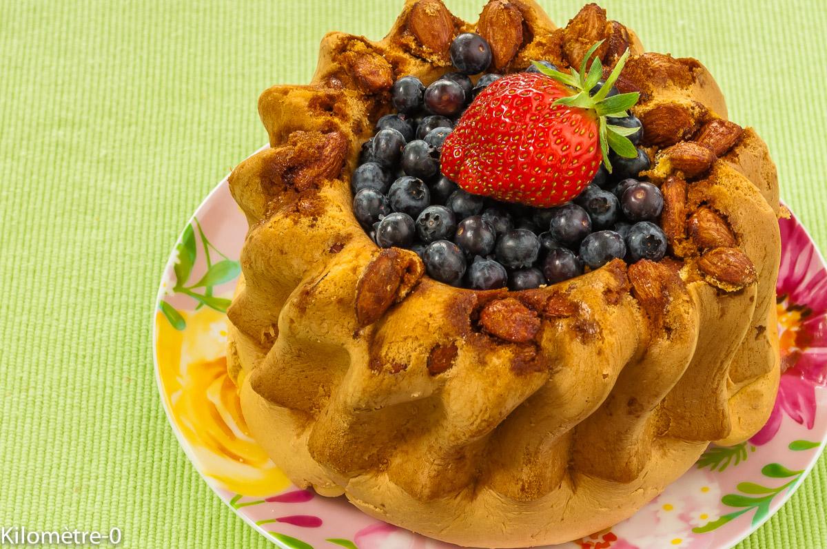 Photo de recette de biscuit de Savoie aux myrtilles de Kilomètre-0, blog de cuisine réalisée à partir de produits locaux et issus de circuits courts