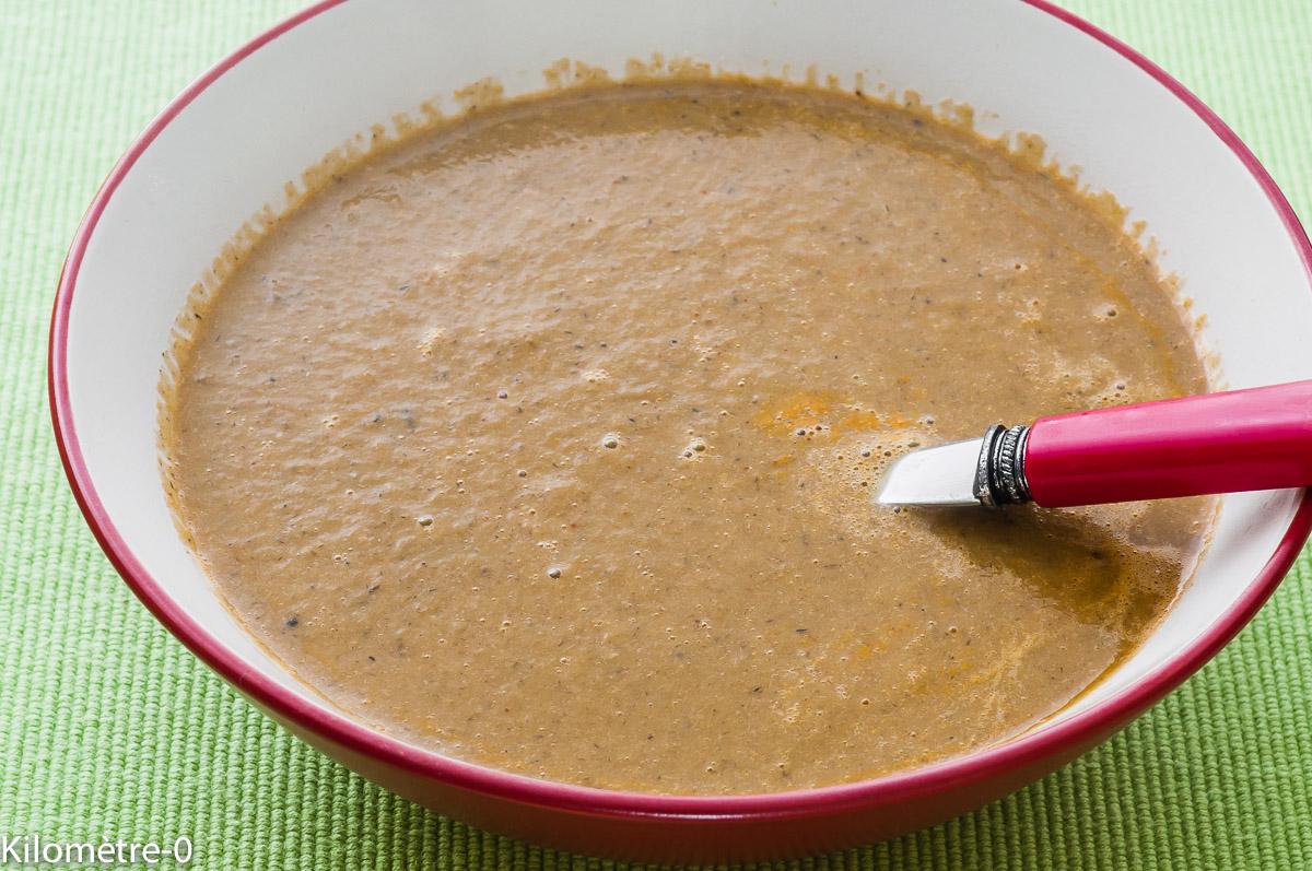 Photo de recette de bisque de homard facile de Kilomètre-0, blog de cuisine réalisée à partir de produits locaux et issus de circuits courts