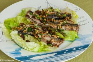 Photo de recette facile sardines léger été de Kilomètre-0, blog de cuisine réalisée à partir de produits locaux et issus de circuits courts