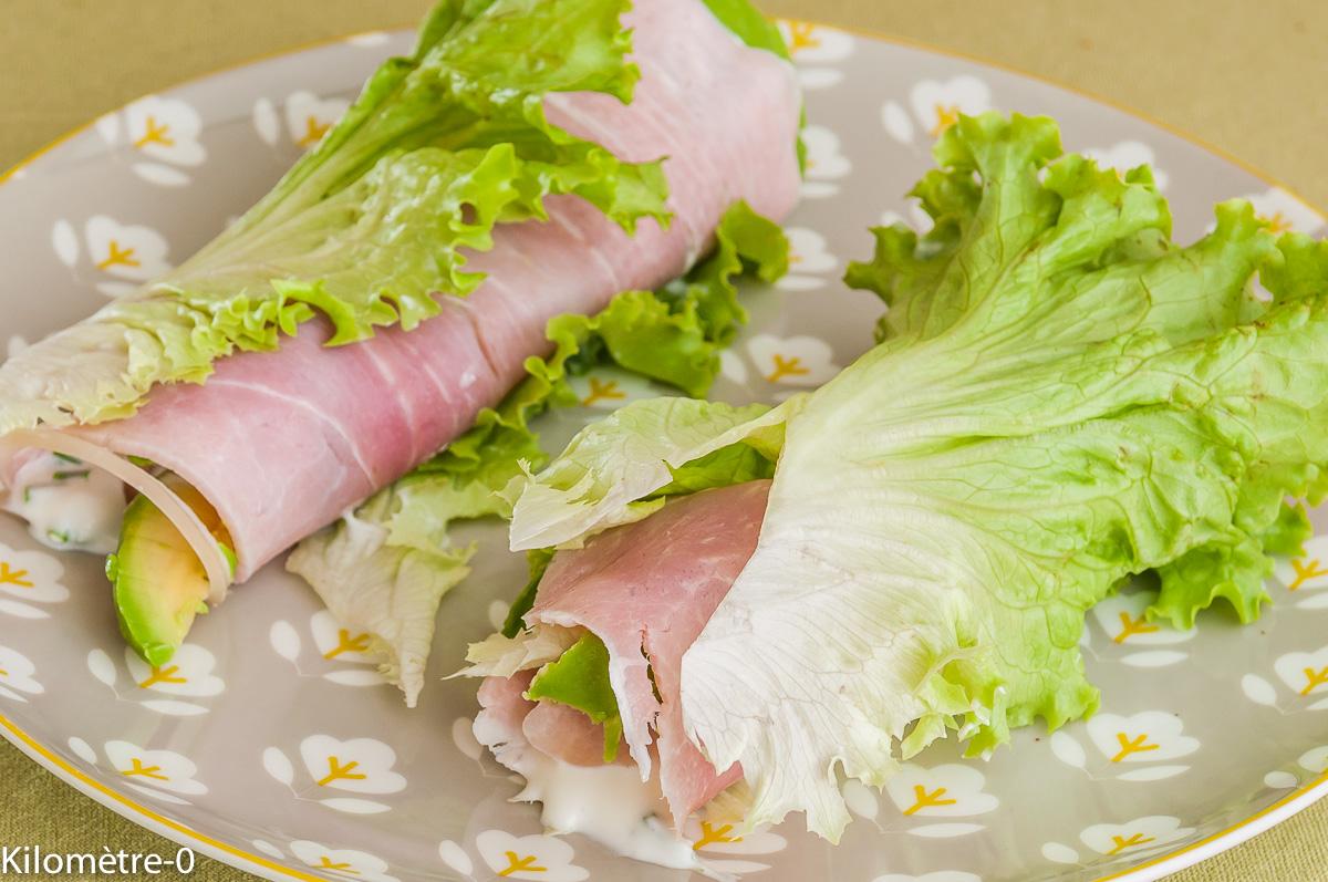 Photo de recette de wrap été jambon avocat jambon de Kilomètre-0, blog de cuisine réalisée à partir de produits locaux et issus de circuits courts
