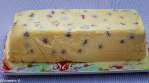 Photo de recette de glace framboises amaretto italienne de Kilomètre-0, blog de cuisine réalisée à partir de produits locaux et issus de circuits courts