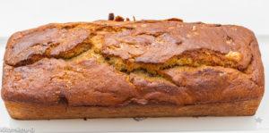 Photo de recette de cake, gâteau du matin, compote rhubarbe, facile, rapide, léger de Kilomètre-0, blog de cuisine réalisée à partir de produits locaux et issus de circuits courts