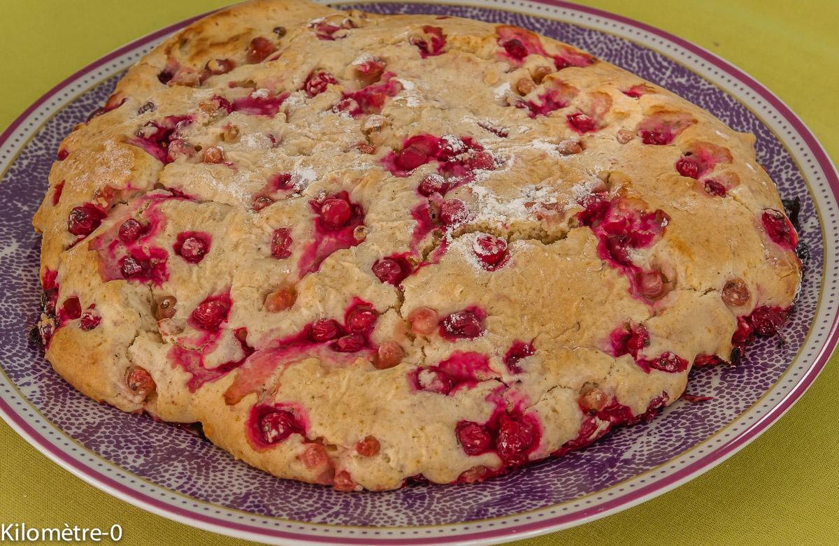 Photo de recette de scone, groseilles, bio de Kilomètre-0, blog de cuisine réalisée à partir de produits locaux et issus de circuits courts