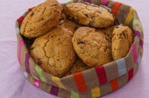 Photo de recette de  cookies, facile, léger, cranberrie de Kilomètre-0, blog de cuisine réalisée à partir de produits locaux et issus de circuits courts