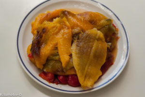 Photo de recette de poivrons grillés de Kilomètre-0, blog de cuisine réalisée à partir de produits locaux et issus de circuits courts
