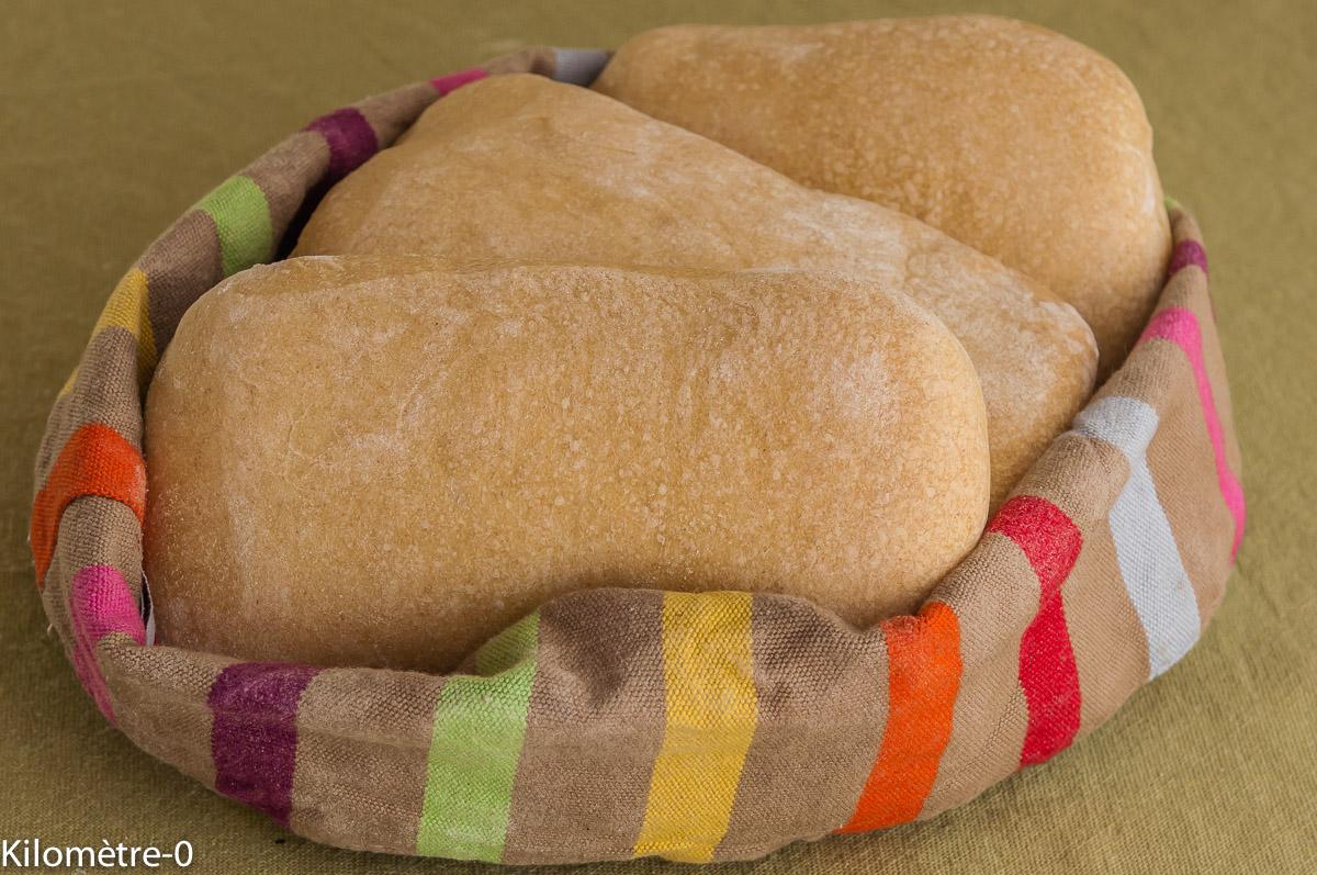 Photo de recette de panini maison de Kilomètre-0, blog de cuisine réalisée à partir de produits locaux et issus de circuits courts