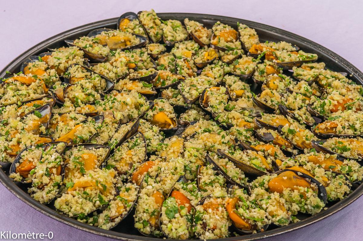 Photo de recette de moules facile léger, persil pécorino de Kilomètre-0, blog de cuisine réalisée à partir de produits locaux et issus de circuits courts