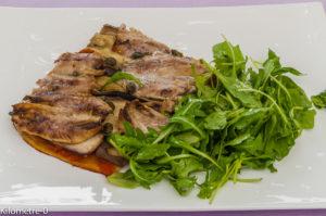 Photo de recette de pizza sardines aubergines câpres, facile, rapide, économique fait maison de  Kilomètre-0, blog de cuisine réalisée à partir de produits locaux et issus de circuits courts