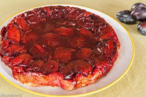 Photo de recette de tatin facile rapide questches de Kilomètre-0, blog de cuisine réalisée à partir de produits locaux et issus de circuits courts