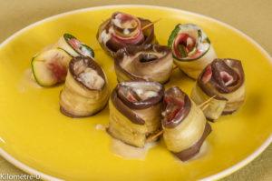 Photo de recette de involtini, roulé, aubergine, taleggio, jambon, facile, rapide, léger de  Kilomètre-0, blog de cuisine réalisée à partir de produits locaux et issus de circuits courts