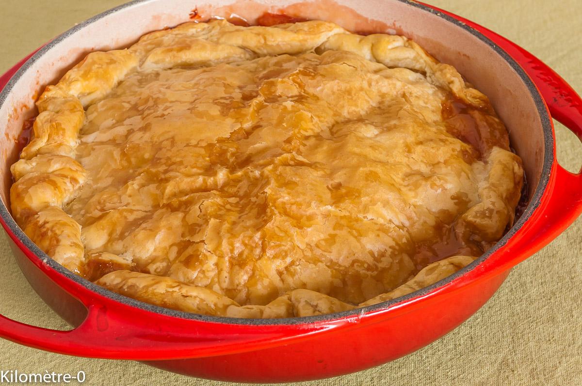 Photo de recette de tatin de coings facile, rapide et légère de Kilomètre-0, blog de cuisine réalisée à partir de produits locaux et issus de circuits courts