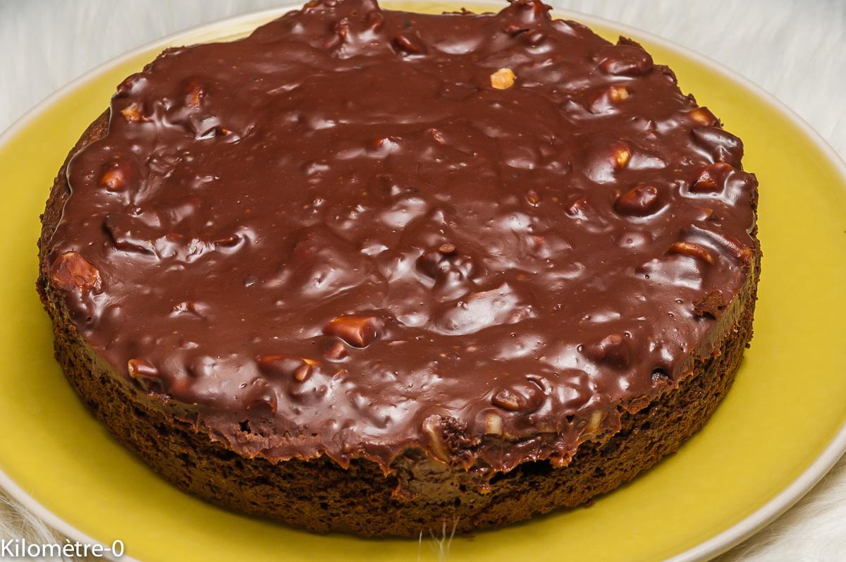 Photo de recette de fondant au chocolat, très léger, léger, simple, facile, rapide, caramel Kilomètre-0, blog de cuisine réalisée à partir de produits locaux et issus de circuits courts