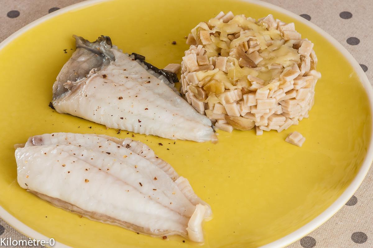 Photo de recette de turbot, crozet, facile, rapide, de Kilomètre-0, blog de cuisine réalisée à partir de produits locaux et issus de circuits courts
