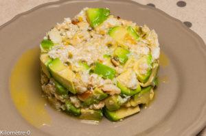Photo de recette de crabe, facile, rapide, léger, fruit de la passion, avocat,  Kilomètre-0, blog de cuisine réalisée à partir de produits locaux et issus de circuits courts
