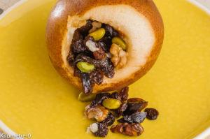 Photo de recette de poires, mendiants, facile, dessert rapide, dessert pas cher, bio deKilomètre-0, blog de cuisine réalisée à partir de produits locaux et issus de circuits courts