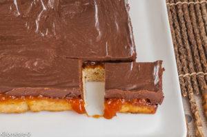 Photo de recette de  pim's, biscuit, abricot, chocolat, facile, rapide, léger, bio Kilomètre-0, blog de cuisine réalisée à partir de produits locaux et issus de circuits courts