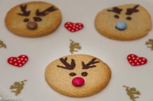 Photo de recette de sablés, rennes de Noël, facile, rapide, léger, enfant, Kilomètre-0, blog de cuisine réalisée à partir de produits locaux et issus de circuits courts