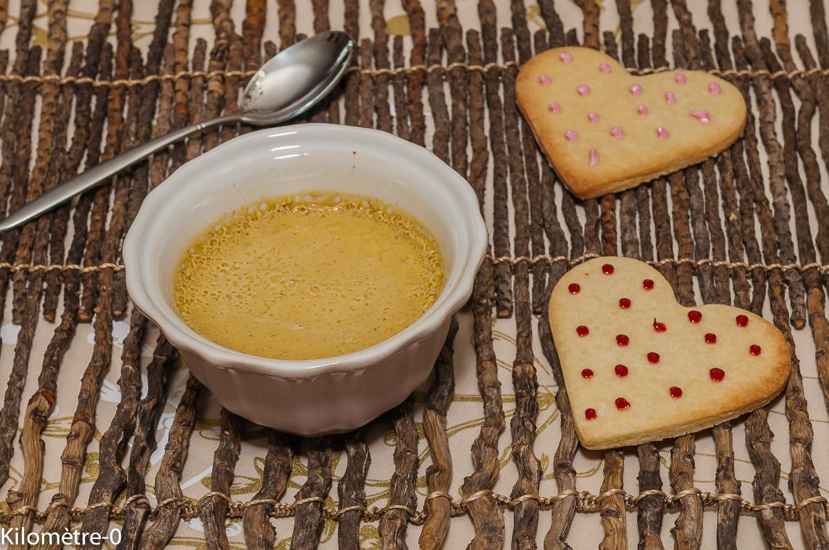 Photo de recette de crème dessert, citron vert, cannelle, facile, rapide, légère, bio de Kilomètre-0, blog de cuisine réalisée à partir de produits locaux et issus de circuits courts