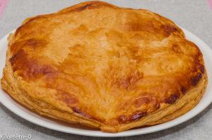 Photo de recette de galette des rois maison, très facile, Kilomètre-0, blog de cuisine réalisée à partir de produits locaux et issus de circuits courts