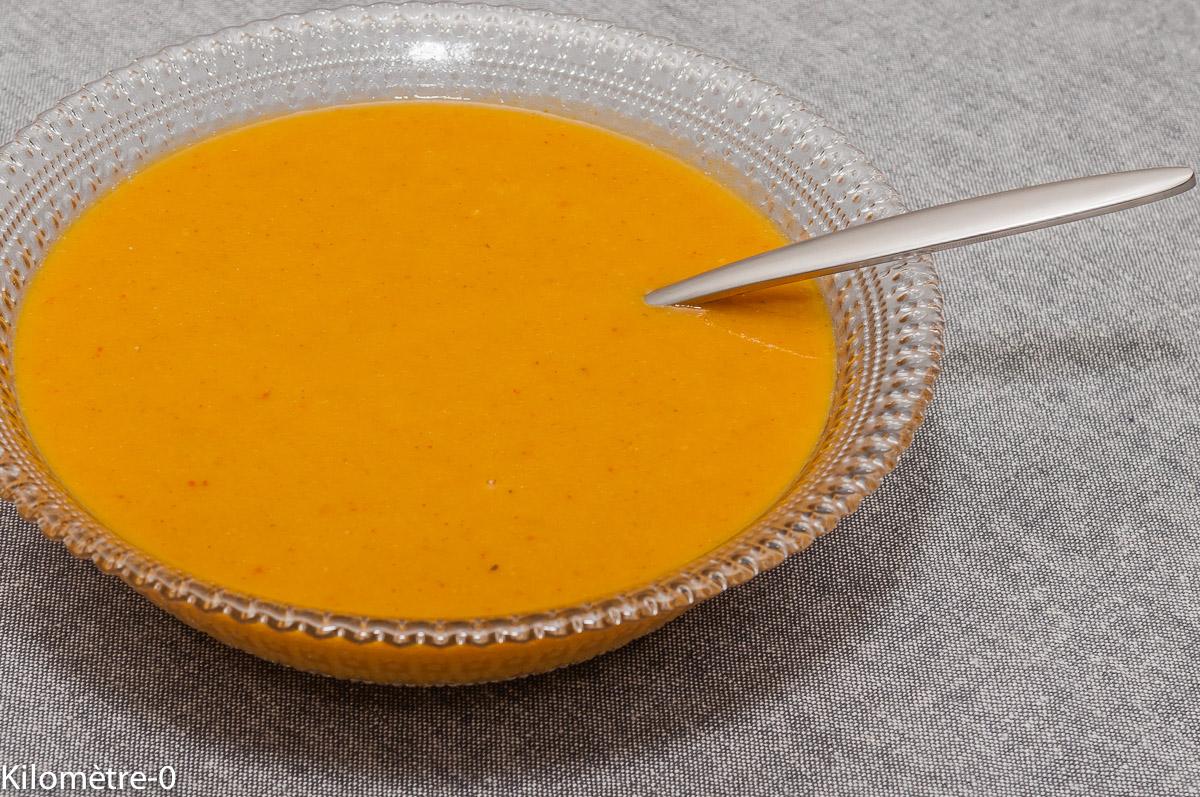 Photo de recette de soupe, bisque, homard, facile, rapide, léger, simple, Kilomètre-0, blog de cuisine réalisée à partir de produits locaux et issus de circuits courts