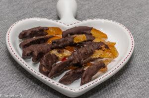 Photo de recette de orangettes maison, orangettes chocolat, bio, facile, Kilomètre-0, blog de cuisine réalisée à partir de produits locaux et issus de circuits courts