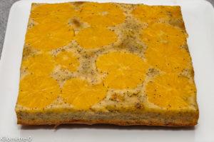 Photo de recette de fondant orange, facile, rapide, bio, léger de Kilomètre-0, blog de cuisine réalisée à partir de produits locaux et issus de circuits courts