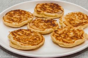 Photo de recette de blinis russes de Kilomètre-0, blog de cuisine réalisée à partir de produits locaux et issus de circuits courts