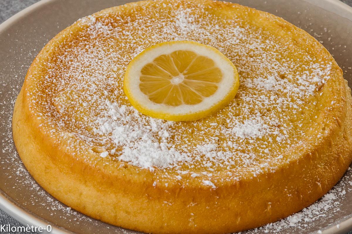 Photo de recette de fondant au citron, moelleux, facile, rapide, léger, bio, gâteau, agrume, Kilomètre-0, blog de cuisine réalisée à partir de produits locaux et issus de circuits courts