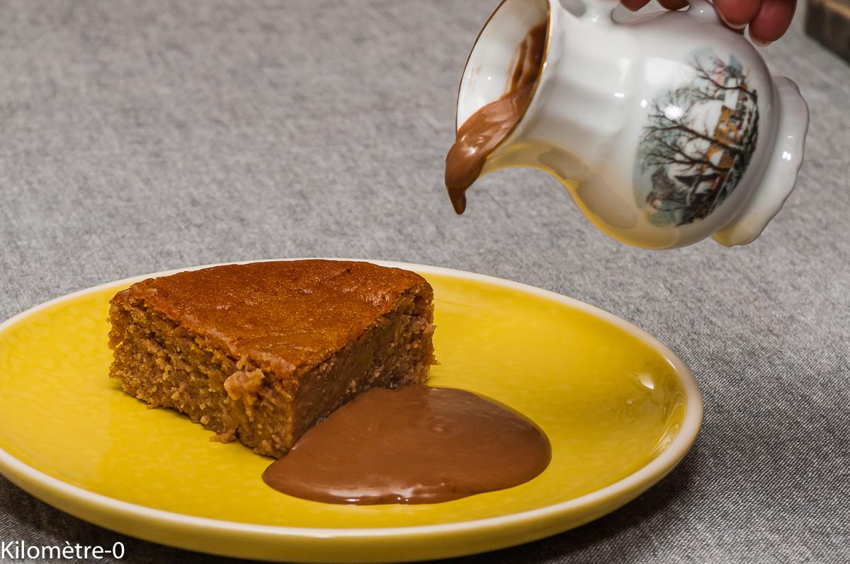 Photo de recette de fondant, moelleux, chocolat, marron, léger, facile, rapide, bio de Kilomètre-0, blog de cuisine réalisée à partir de produits locaux et issus de circuits courts