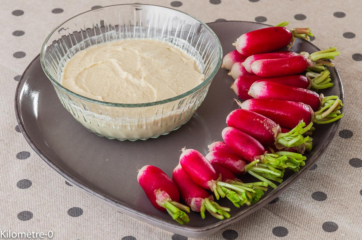 Photo de recette de mayonnaise végétal, chou fleur,  bio, léger, rapide, facile, de Kilomètre-0, blog de cuisine réalisée à partir de produits locaux et issus de circuits courts