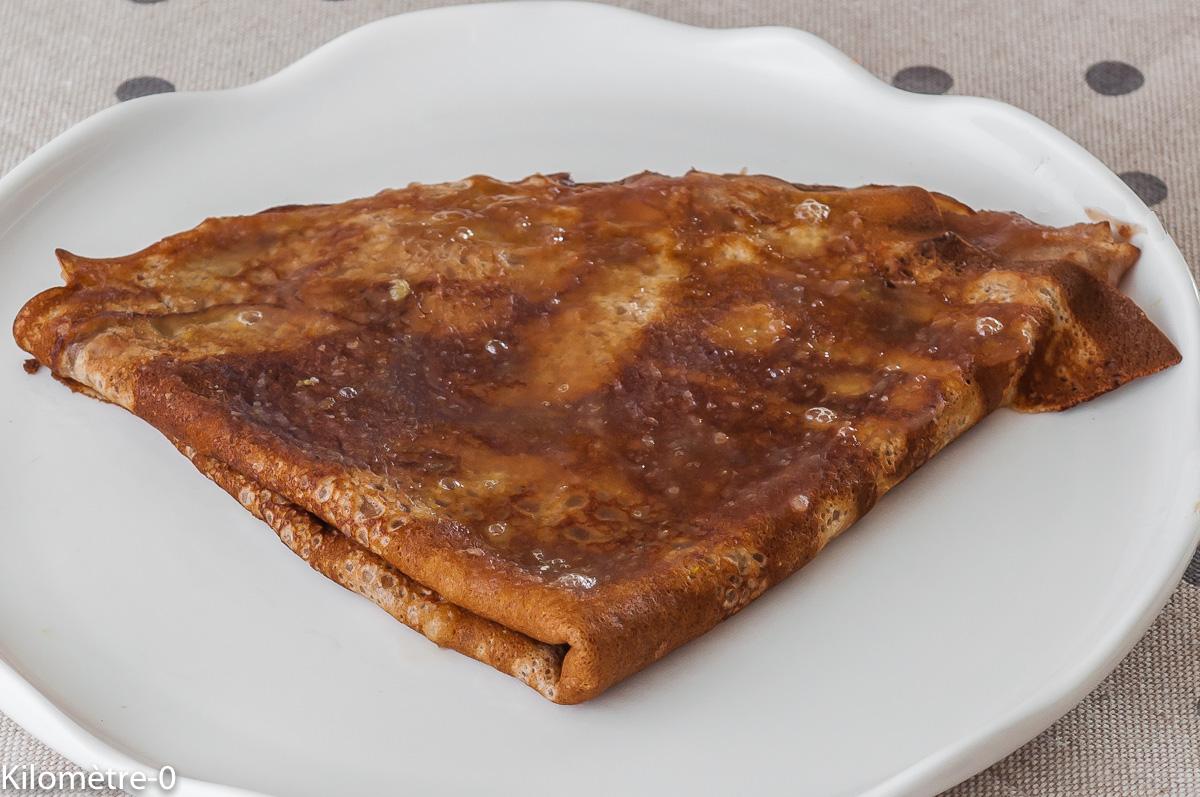 Photo de recette de crêpes, châtaignes, facile, rapide, léger de Kilomètre-0, blog de cuisine réalisée à partir de produits locaux et issus de circuits courts