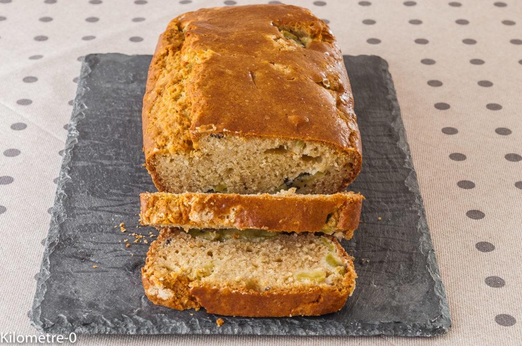 Photo de recette de gâteau, kiwi, amandes, facile, rapide, léger, bio, de Kilomètre-0, blog de cuisine réalisée à partir de produits locaux et issus de circuits courts