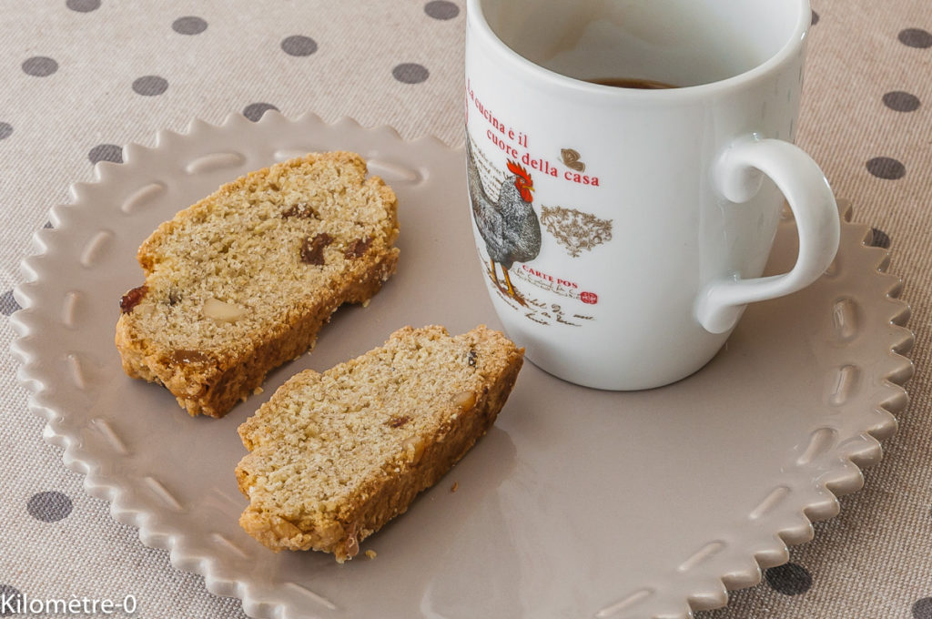 Photo de recette de tozzetti bio de Kilomètre-0, blog de cuisine réalisée à partir de produits locaux et issus de circuits courts