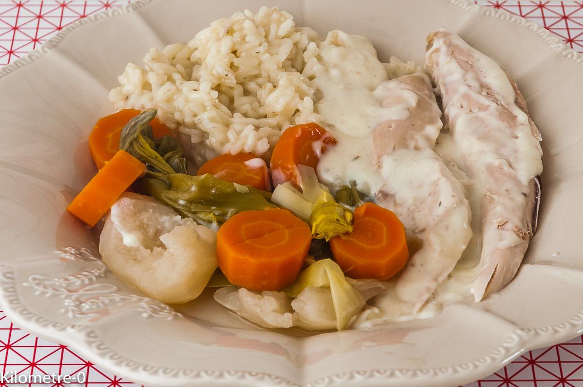 Photo de recette de poule au riz, poulet, facile, bio, légumes, deKilomètre-0, blog de cuisine réalisée à partir de produits locaux et issus de circuits courts