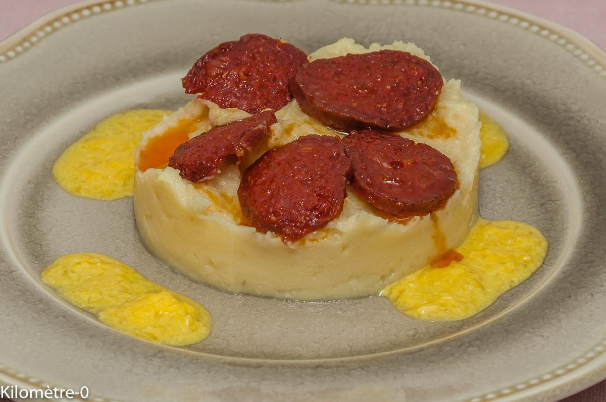Photo de recette de panais, orange, chorizo de Kilomètre-0, blog de cuisine réalisée à partir de produits locaux et issus de circuits courts
