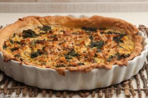 Photo de recette de tarte thon orties, facile, bio, rapide de Kilomètre-0, blog de cuisine réalisée à partir de produits locaux et issus de circuits courts