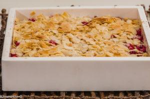 Photo de recette de sablés framboises facile de Kilomètre-0, blog de cuisine réalisée à partir de produits locaux et issus de circuits courts
