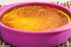 Photo de recette de flognarde aux pommes, facile, rapide, bio de  de Kilomètre-0, blog de cuisine réalisée à partir de produits locaux et issus de circuits courts