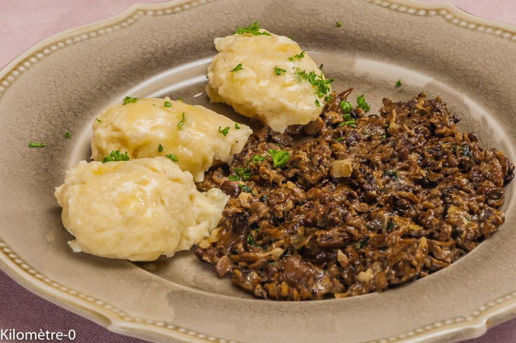 Photo de recette de quenelle de saint jacques, légère de Kilomètre-0, blog de cuisine réalisée à partir de produits locaux et issus de circuits courts