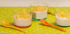 Photo de recette du Sénégal, de tiakri à l'ananas, facile, bio, rapide, cuisine sénégalaise, Kilomètre-0, blog de cuisine réalisée à partir de produits locaux et issus de circuits courts