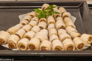 Photo de recette de cloche, Pâques, pizza, saucisse, facile, rapide, fête, apéro de Kilomètre-0, blog de cuisine réalisée à partir de produits locaux et issus de circuits courts