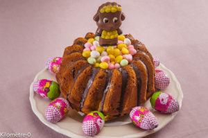 Photo de recette de gâteau, Pâques, chocolat, enfant, facile, rapide, original, rigolo, fête, anniversaire, beau de Kilomètre-0, blog de cuisine réalisée à partir de produits locaux et issus de circuits courts