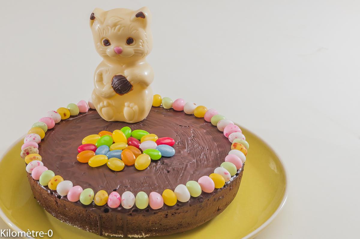 Photo de recette de fondant au chocolat, Pâques, enfant, fête, beau, facile deKilomètre-0, blog de cuisine réalisée à partir de produits locaux et issus de circuits courts